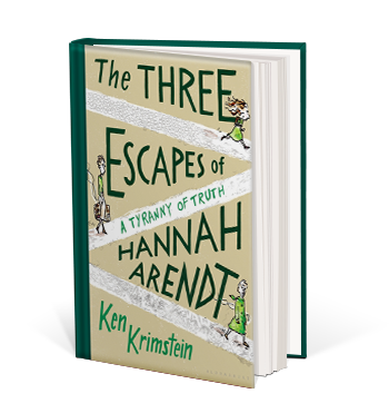 Book cover for The Three Escapes of Hannah Arendt