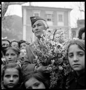 Isabel Pell. Puget-Théniers, France circa 1945. BANC PIC 1982.111 series 6, NNEG box 87, item 539