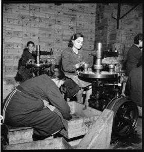 Sardine Box Factory. Lisbon, Portugal circa 1941. BANC PIC 1982.111 series 3, NNEG box 49, item 46
