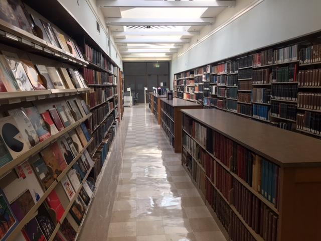 Periodicals Hallway in AH-C