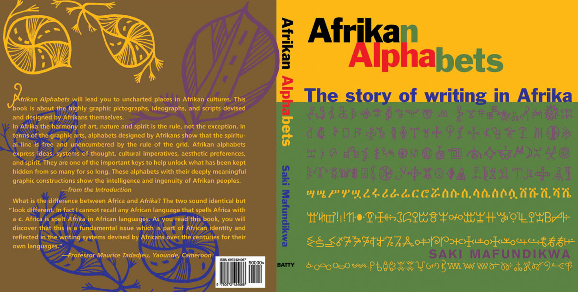 Afrikan Alphabets