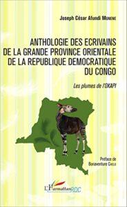 Anthologie des écrivains de la Grande Province Orientale de la République Démocratique du Congo