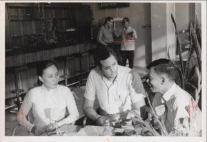 Photo of Robert Allen on 1967 Vietnam Tour