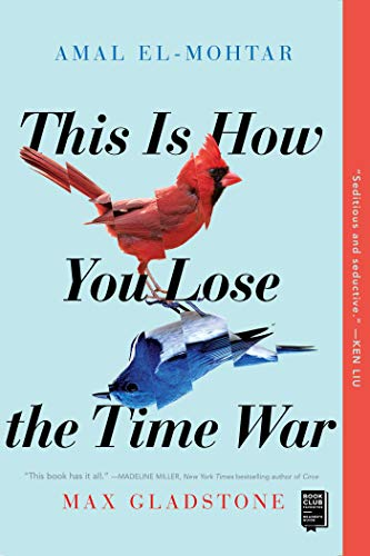 Book cover for this is how you lose the time war