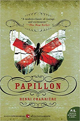 Book cover for papillon