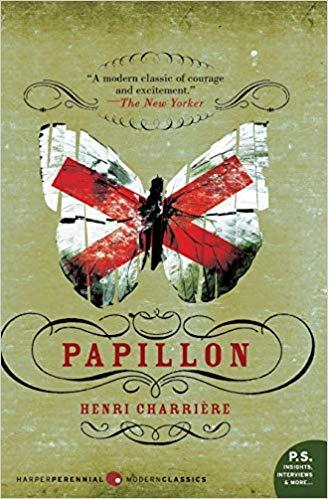 Book cover for papillon