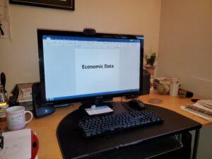 Jim's desk