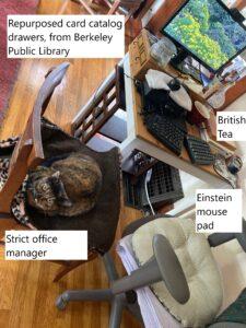 Ann's desk
