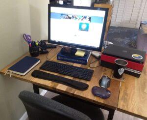 Molly's desk