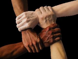 Diverse Interlocking Fists
