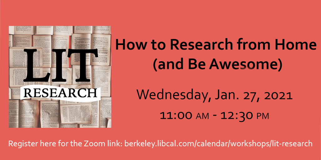 Literary Research Workshop
