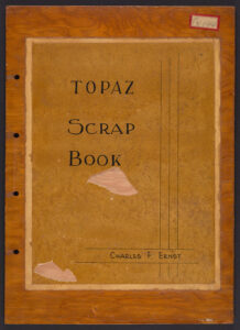 Topaz Scrap Book cover.