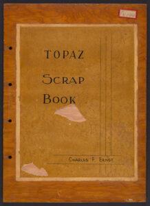 Topaz Scrap Book cover.