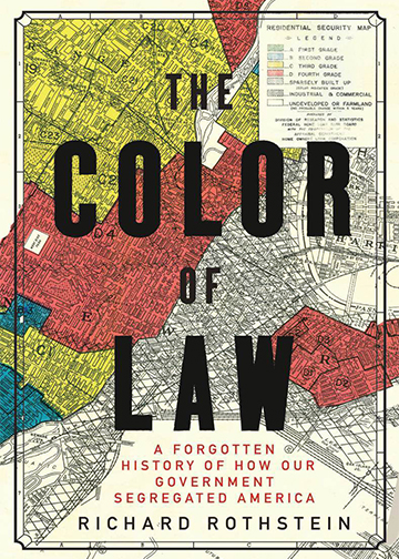 Book cover for The Color of Law