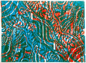 Ezra Sato print Cross-section