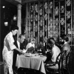 Cecilia Chiang interacting with customers at her restaurant